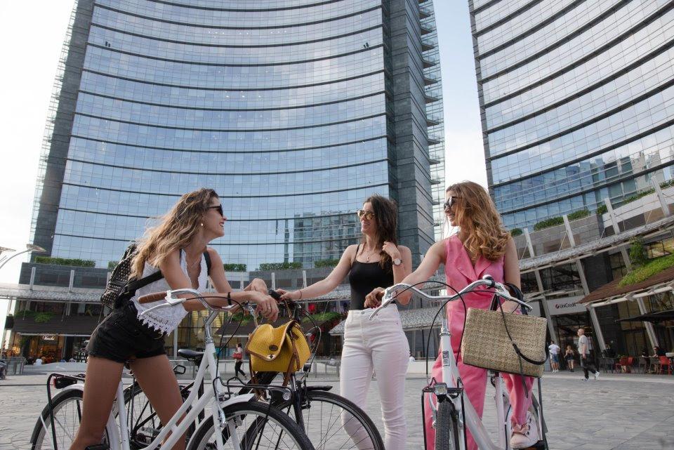"""BIKEBEE al """"Mobility Day 2"""" di Milano-Bicocca Settimana europea della mobilità sostenibile"""